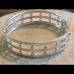 Silpada Sterling Club Bracelet